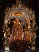 Enna.La Nave d'oro di Maria SS. Della Visitazione,patrona di Enna. Il culto risale al 1400 circa.