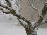 Neve sulla Torre Di Federico II di Svevia. ENNA Innuendo Innuendo