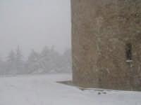 Neve sulla Torre Di Federico II di Svevia.  - Enna (4332 clic)