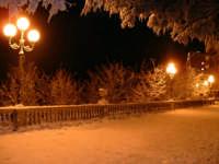 Enna. Neve lungo il Belvedere.  - Enna (7704 clic)