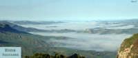 Enna. Nebbia a valle. Per chi pensa che Enna non abbia il mare... :)  - Enna (4612 clic)