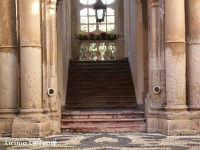 Particolare della scalinata interna del Palazzo Beneventano  - Siracusa (5375 clic)