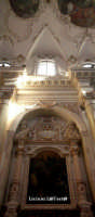 Particolare della navata laterale e del soffitto della Chiesa di S. Maria della Concezione in Ortigia  - Siracusa (1919 clic)