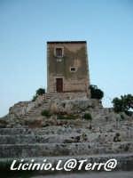 La torre-vedetta situata sopra il Teatro Greco  - Siracusa (2036 clic)