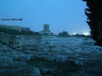 Scorcio del Teatro Greco all'imbrunire  - Siracusa (3983 clic)