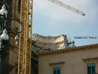 Particolare della cupola in ricostruzione della Cattedrale di Noto  - Noto (4815 clic)