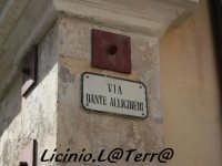 La famosissima via Dante Allighieri, ma non era Dante Alighieri?  - Noto (3999 clic)