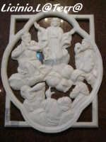 Particolare dell'interno della Chiesa di S. Michele Arcangelo  - Priolo gargallo (3669 clic)