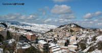 Panorama dall'alto di Buccheri innevata  - Buccheri (4906 clic)