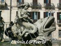 Particolare della fontana di Artemide in Piazza Archimede  - Siracusa (1638 clic)