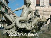 Particolare della fontana di Artemide in Piazza Archimede  - Siracusa (1583 clic)