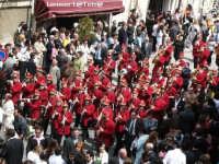 La banda musicale che precede il Cristo Risorto, Pasqua 2005  - Scicli (3850 clic)