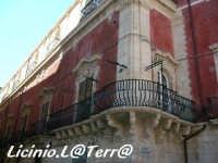 Particolare del balcone angolare del Palazzo Borgia   - Siracusa (3537 clic)