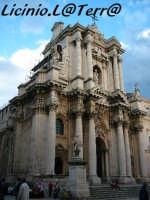 L'imponente prospetto Barocco della Cattedrale  - Siracusa (3405 clic)