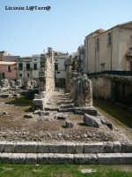 Particolare del Tempio di Apollo  - Siracusa (3295 clic)