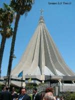 Santuario della Madonnina delle Lacrime. Inaugurato il 6 Novembre del 1994 dal Santo Padre Papa Giovanni Paolo II il Grande  - Siracusa (1810 clic)