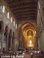 Interno della Cattedrale di Monreale  - Monreale (891 clic)