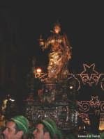 Simulacro argenteo di S. Lucia in processione per Siracusa  - Siracusa (3151 clic)