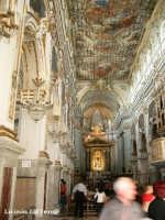 La navata centrale della Basilica di S. Sebastiano  - Melilli (3734 clic)