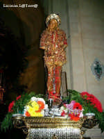 Statua di S. Sebastiano, patrono di Melilli  - Melilli (8928 clic)
