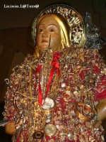 Particolare della statua di S. Sebastiano, patrono di Melilli  - Melilli (7605 clic)