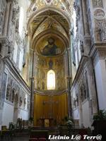 Interno della Cattedrale di Cefalù, particolare dell'abside.  - Cefalù (834 clic)