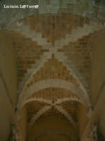 Particolare della volta dell'entrata del palazzo Vermexio  - Siracusa (1970 clic)