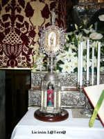 Reliquiario argenteo datato 1931, contenente frammenti del braccio di S. Lucia, Cattedrale  - Siracusa (3367 clic)