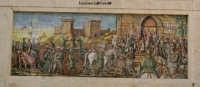 Splendido murale in ceramica CALTAGIRONE Licinio La Terra Albanelli