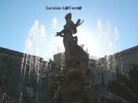 Particolare della Fontana di Diana in Piazza Archimede  - Siracusa (1835 clic)