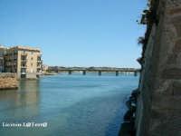 Particolare del Ponte nuovo sul porto Xifonio, visto dal ponte vecchio  - Augusta (6563 clic)