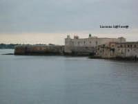 Veduta del Castello Maniace dal Lungomare di Levante ad Ortigia  - Siracusa (2075 clic)