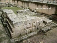 Resti della Porta Urbica, antica porta greca di ingresso ad Ortigia  - Siracusa (8953 clic)