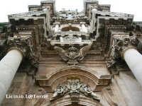 Particolare architettonico della Cattedrale  - Siracusa (1970 clic)