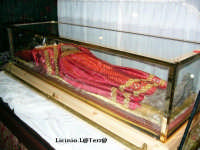 Il corpo di S. Lucia in visita a Siracusa da Venezia in Dicembre 2004. Un ringraziamento personale a entrambe le Curie dell'avvenimento storico.  - Siracusa (9955 clic)