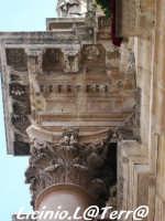 Particolare della trabeazione del Duomo  - Siracusa (1377 clic)