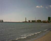 Faro - Veduta dalla spiaggia della Giummarella (foto scattata da W. De Caro)  - Licata (5473 clic)