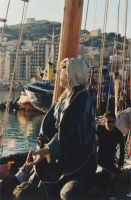 Festa dell'Addolorata - Statua sul veliero (foto archivio parrocchiale)  - Licata (7462 clic)