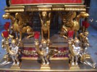Chiesa di Sant'Angelo - particolare del fercolo  - Licata (2550 clic)