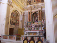 Chiesa di Sant'Angelo - altare maggiore  - Licata (5312 clic)