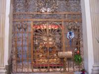 Chiesa di Sant'Angelo - cancellata della cappella del Santo  - Licata (5142 clic)