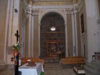 Chiesa di Sant'Angelo - veduta della cappella del Santo  - Licata (2427 clic)