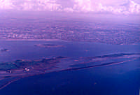 Vista aerea dell Stagnone: al centro Mozia  - Marsala (7417 clic)