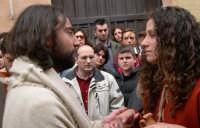 Pasqua 2005 - Processione del Giovedì - Gesù e la Maddalena(=Easter 2005 - Procession of Thursday - Jesus and the Maddalena)  - Marsala (4055 clic)