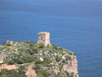 ANTICA TORRE DI AVVISTAMENTO NEI PRESSI DELLA TONNARA DI SCOPELLO  - Castellammare del golfo (9071 clic)
