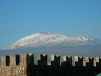 14 aprile 2006 - view of mount etna volcano from paterno  - Paternò (3214 clic)