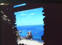 isola di Salina, panorama su punta Scario   - Eolie (4342 clic)