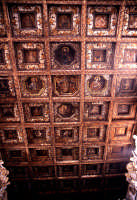 Chiesa del Rosario tetto a cassettoni   - Favara (4730 clic)