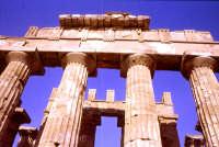 tempio greco, trabeazione   - Selinunte (4818 clic)