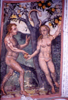 chiesa madre affreschi creazione   - Burgio (4473 clic)